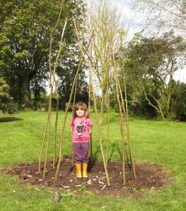 sweet pea castle, cottage garden, gardening blog