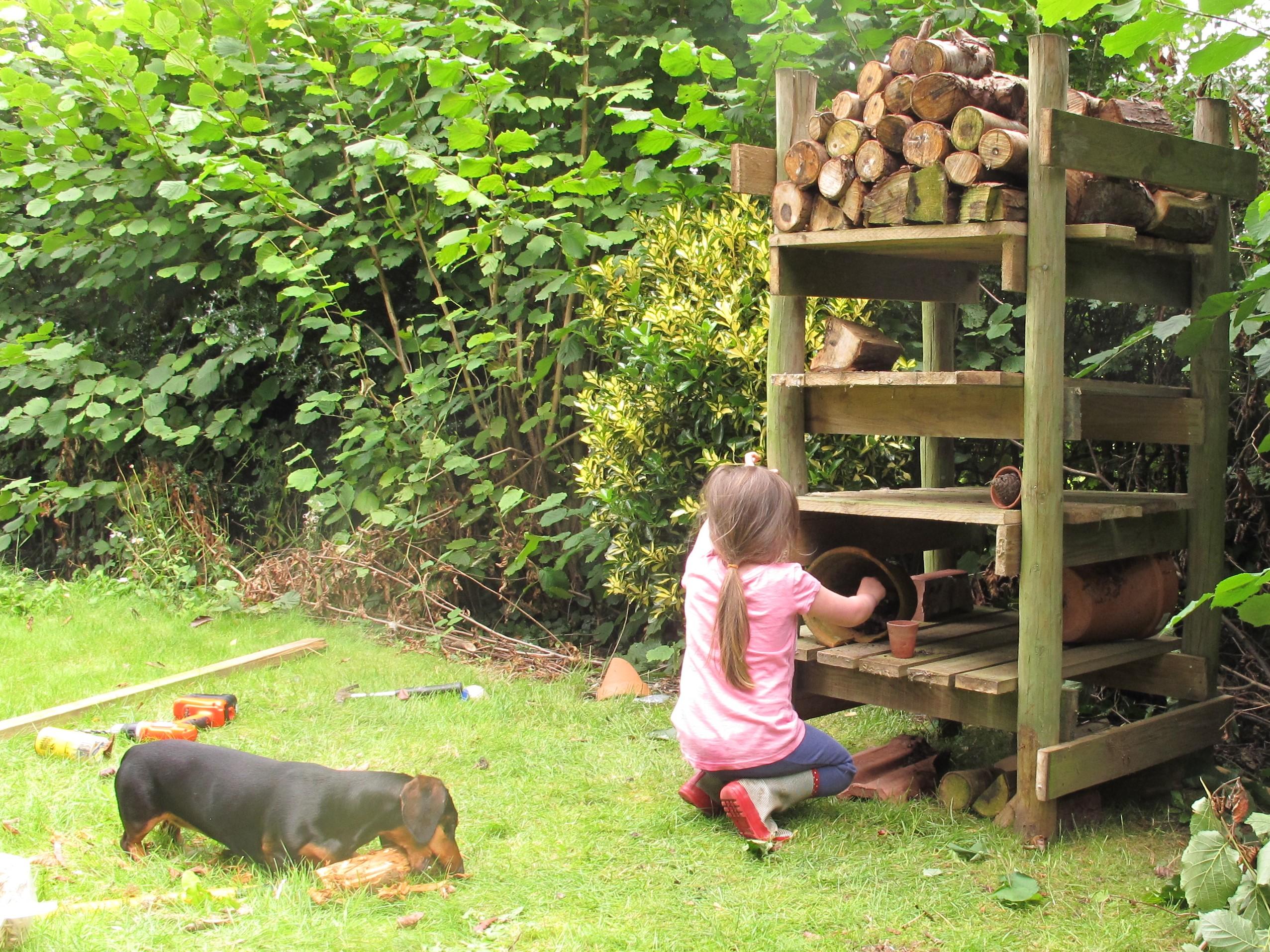 the secret life of woodlice brookend cottage garden. Black Bedroom Furniture Sets. Home Design Ideas